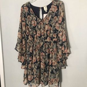 Red Dress Boutique New Floral Dress